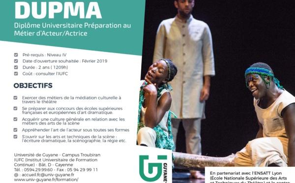 [Formation] : Sophie CHARLES reçoit l'équipe du Centre dramatique Kokolampoe autour du prochain lancement du Diplôme Universitaire de Préparation au Métier d'Acteur à Sainrt-Laurent