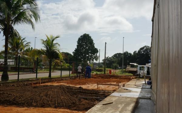 [Travaux] : construction d'une annexe au Chapiteau Municipal