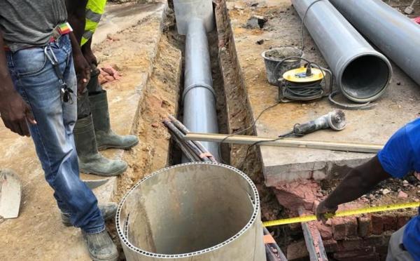 [TRAVAUX] : remplacement d'un tronçon du réseau d'eaux pluviales