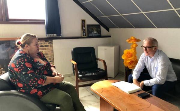 [Vie institutionnelle] : Madame le maire rencontre le Procureur de la République en amont du CLSPD