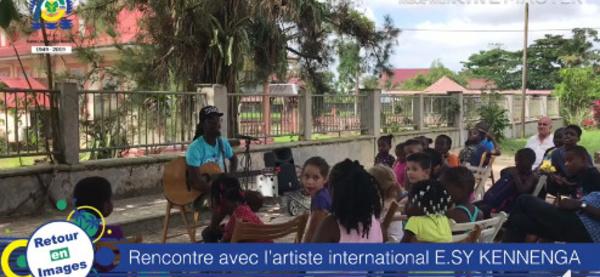 [Musique] : retour en vidéo sur la rencontre organisée entre E.SY KENNENGA et les élèves de l'Ecole municipale de musique et de danse de Saint-Laurent