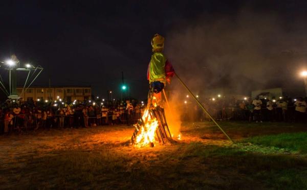 [JOURS GRAS 2019] : Retour en image sur le mercredi des cendres et l'incinération du Roi Vaval