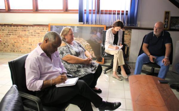 [Vie institutionnelle] : Madame le maire sensibilise la délégation de la commission du développement durable et de l'aménagement du territoire de l'Assemblée nationale aux besoins de Saint-Laurent et de l'Ouest guyanais