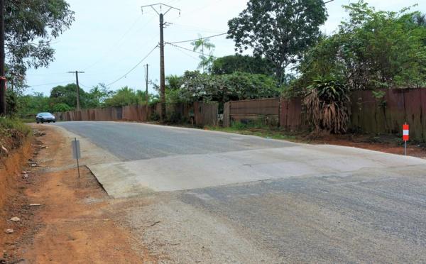 [Sécurité routière] : installation de ralentisseurs sur l'avenue Paul Castaing