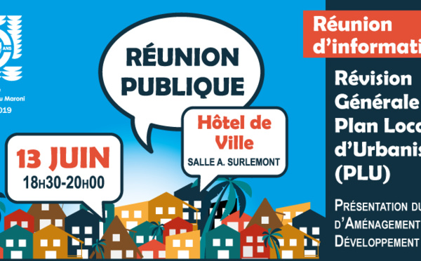 [Plan local d'urbanisme] : réunion publique