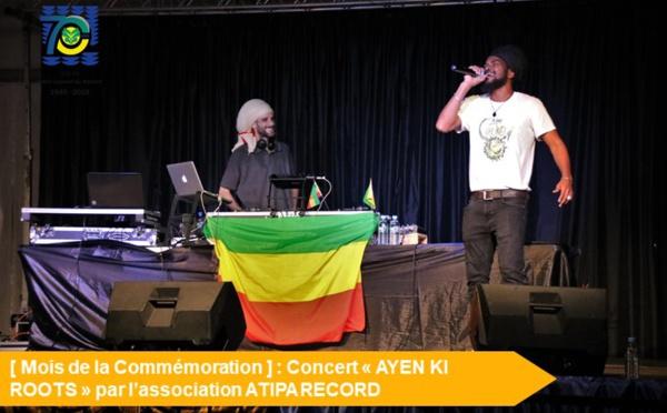 [Mois de la Commémoration] : Retour en images sur le concert AYEN KI ROOTS