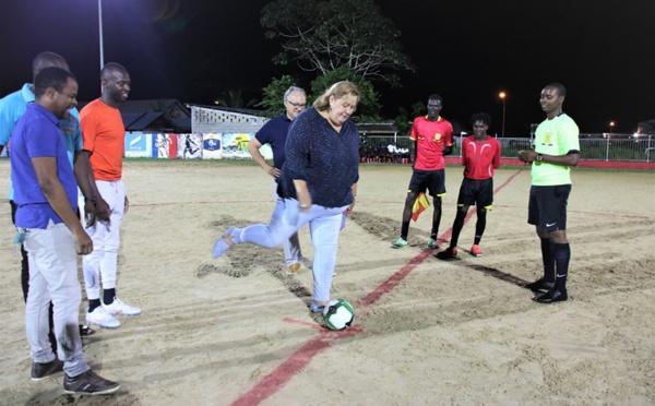 [Bougez avec Saint-Laurent] : ouverture du tournoi de football interquartiers ASCO