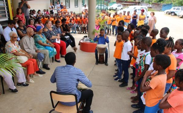 [Education] : Inauguration des écoles Rosa PARKS et Elie STEPHENSON