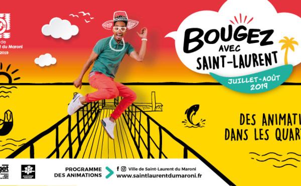 [Bougez avec Saint-Laurent] : Programme des activités dans les quartiers
