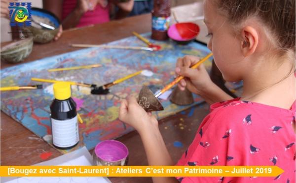 [Bougez avec Saint-Laurent] : retour en images sur les ateliers « C'est mon Patrimoine »