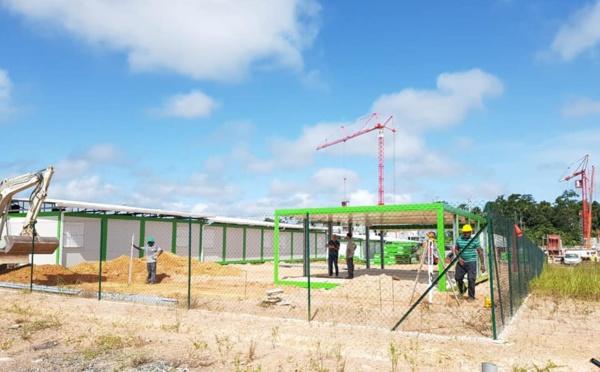 [Constructions scolaires] : extension de l'école de la ZAC Saint-Maurice