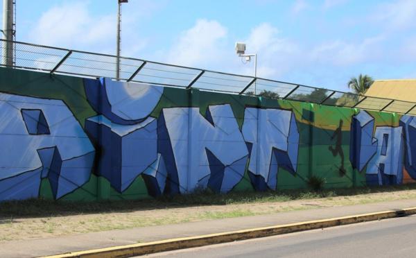 [Nos jeunes ont du talent] : les jeunes des quartiers de Saint-Laurent embellissent l'entrée de ville