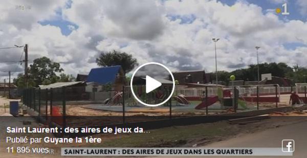 [Vie des quartiers] : construction en cours d'aires de jeux dans les quartiers