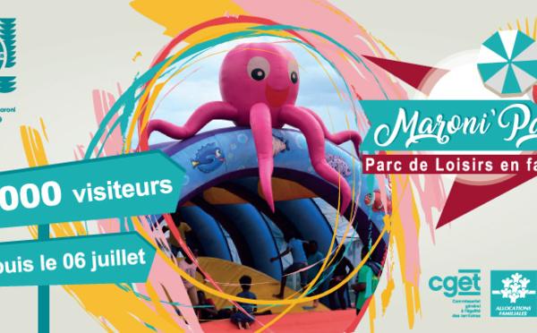 [ Bougez avec Saint-Laurent ] : succès retentissant pour le Maroni Parc : déjà 19 000 visiteurs !