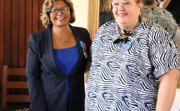 [Saint-Laurent du Maroni - Fête patronale spéciale 70 ans] : Madame le maire décorée de la médaille de l'Ordre National du Mérite