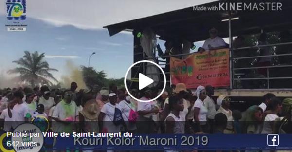 [Saint-Laurent du Maroni - Fête patronale spécial 70 ans] : les rues de Saint-Laurent se parent de mille et une couleurs avec la Kouri Kolor Maroni !