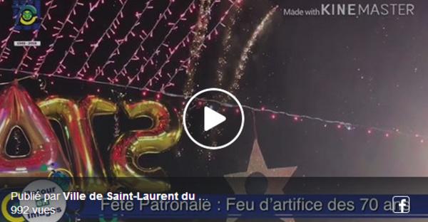 [Saint-Laurent du Maroni - Fête patronale spéciale 70 ans ] : un final étincelant en l'honneur des 70 ans de la commune