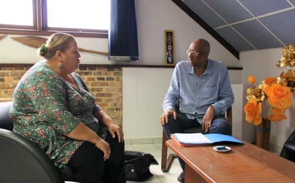[Finances locales] : Madame le maire échange avec le sénateur de Guyane Georges Patient sur les dotations financières de l'État