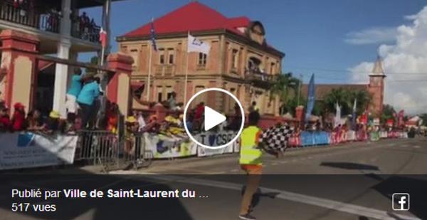 [Tour de Guyane] : Adrien ALIDOR remporte la sixième étape. Retour en vidéo sur l'arrivée