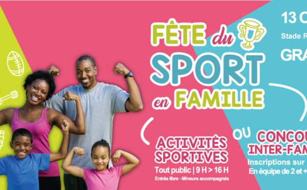 [SPORT] : Venez nombreux à la Fête du Sport en Famille !