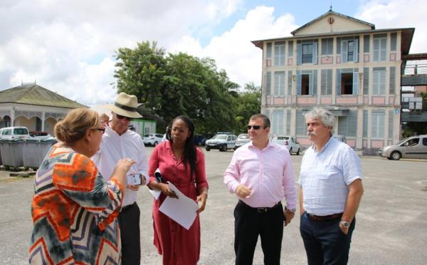 [Rénovation urbaine] : Visite d'Eric LOMBARD, Directeur général de la Caisse des Dépôts et Consignations (CDC)