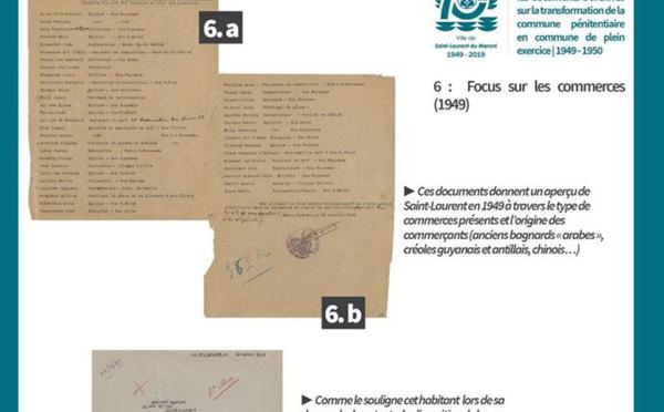 """[Patrimoine] : série """"Au cœur des archives"""" - Volet 6 : Focus sur les commerces saint-laurentais en 1949"""