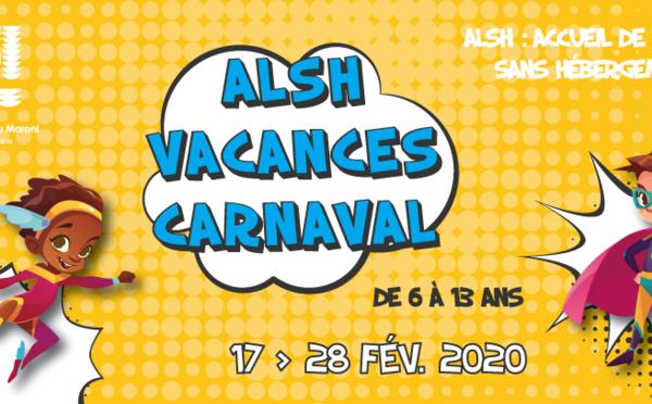 [Accueils de loisirs] : inscrivez vos enfants à l'ALSH des vacances de Carnaval !