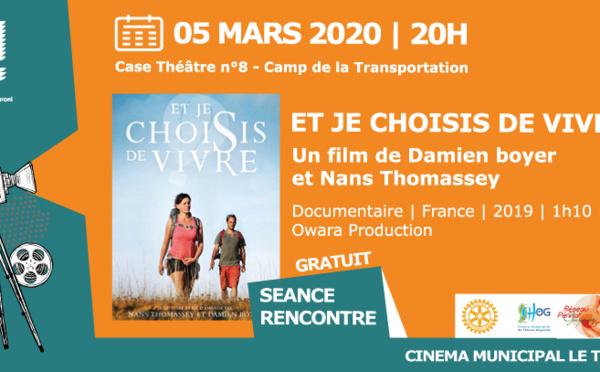 """[Cinéma] : projection du film """"ET JE CHOISIS DE VIVRE"""""""