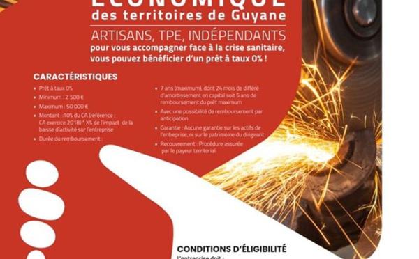 [Coronavirus Guyane] : Fonds d'urgence économique des territoires de Guyane