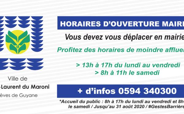 [#déconfinement] : si vous devez vous déplacer en mairie, privilégiez les horaires de moindre affluence