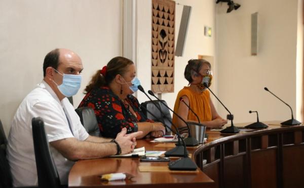 [#SituationSanitaire] : réunion de coordination autour de la situation sanitaire à #saintlaurentdumaroni
