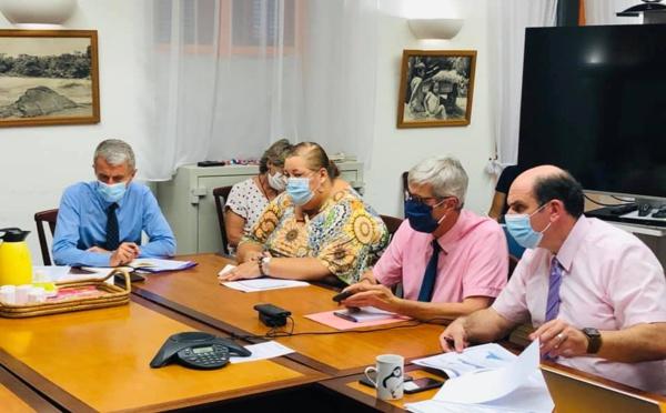 [#CelluledeCriseOuest] : Madame le maire demande la généralisation du test sans ordonnance lors de la cellule de crise ouest