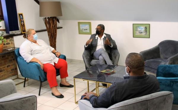 [#EconomieetFormation] : Madame le maire rencontre les chambres consulaires autour des questions relatives au soutien et à la relance de la vie économique et à la formation