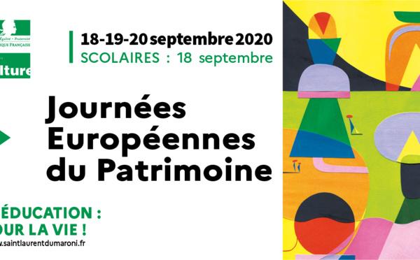 [#patrimoine] : découvrez le programme des #JournéesEuropéennesDuPatrimoine des 18-19-20 septembre à Saint-Laurent du Maroni