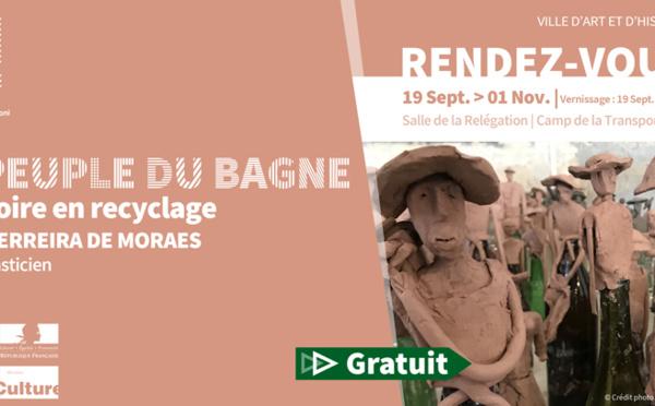 """[#Exposition] : """"Le peuple du bagne : l'histoire en recyclage"""" de Edson FERREIRA"""