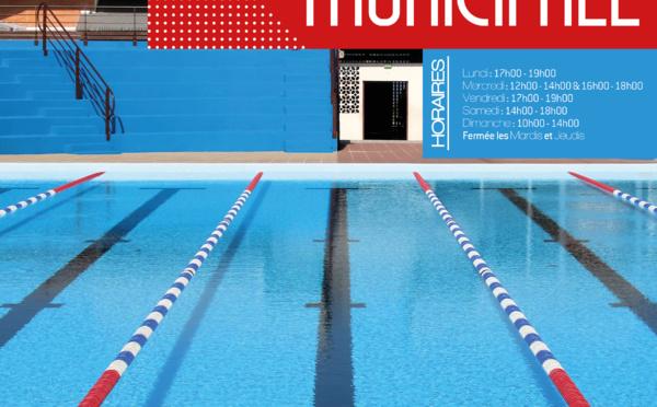 #Sports : la piscine municipale réouvre ses portes au public à compter du 23 février