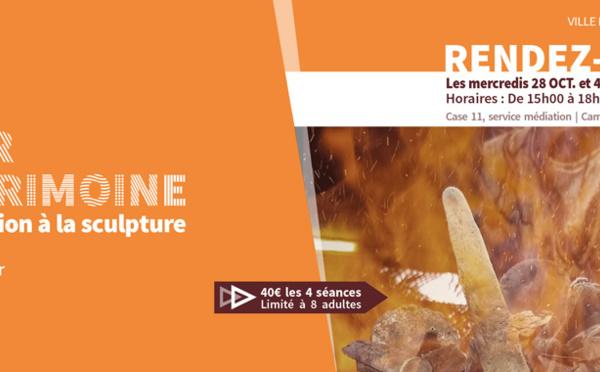 Ateliers du patrimoine : venez vous initier à la sculpture en bronze