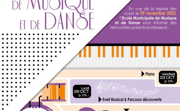 #Musique : venez rencontrer les enseignants de l'école municipale de musique et de danse de #saintlaurentdumaroni