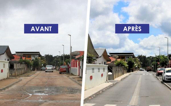 #Travaux : L'allée des Ixoras est entièrement rénovée