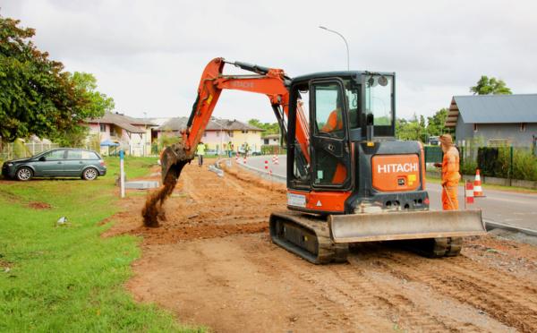 #Travaux : Des trottoirs et des passages à niveau pour améliorer la sécurité dans les Hauts de Balaté