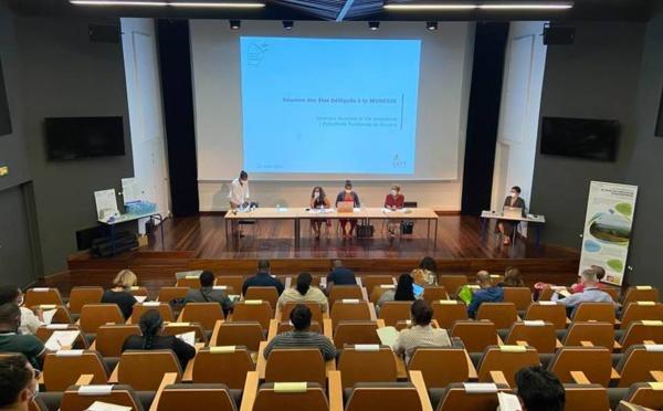 #Jeunesse : Réunion de concertation des élus délégués à la jeunesse de Guyane
