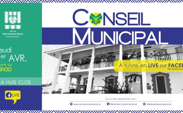 #Conseilmunicipal : Conseil municipal du 01 avril 2021