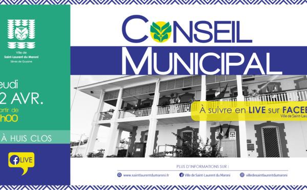 #CONSEILMUNICIPAL : CONSEIL MUNICIPAL DU 22  AVRIL 2021