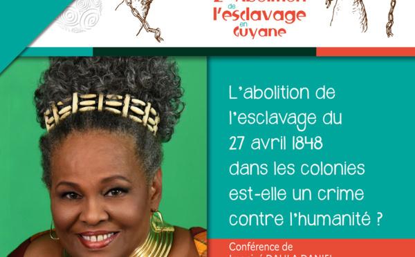 """#Conférence : """"L'abolition de l'esclavage du 27 avril 1848 dans les colonies est-elle un crime contre l'humanité ? »"""