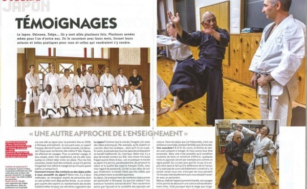 L'association Maroni Shotokan Karaté Club au Japon