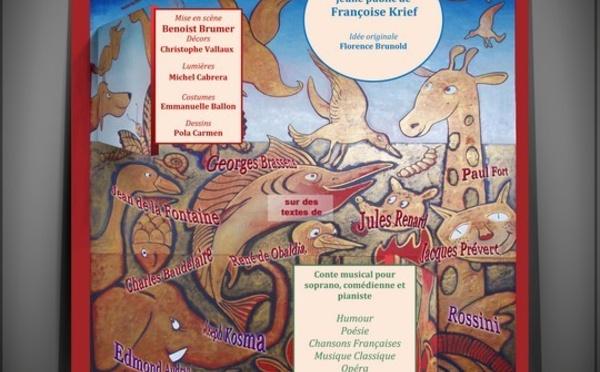 La ronde des animaux, spectacle de la Compagnie paris Lyrique