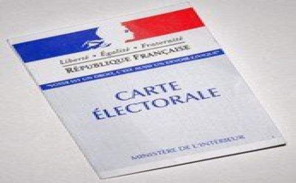 La carte d'électeur