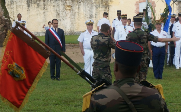 Mardi 19 juilet : cérémonie de passation du commandement du RSMA