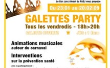 Galettes party tous les vendredis au PAEJ