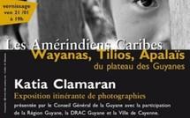 Vernissage de l'exposition: les Amérindiens Caribes Wayanas, Tilios et Apalais du plateau des guyanes, le 21 janvier 2011 au Camp de la Transportation à Saint-Laurent du Maroni.